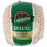 Carolina Turkey Deluxe 10 lb. Oven Roasted Skinless Turkey Breast - 2/Case