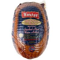 Kohler 8 lb. Black Forest Smoked Ham - 2/Case