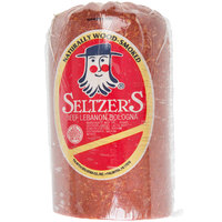Seltzer's Lebanon Bologna 4.5 lb. Original Bologna   - 2/Case