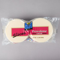 Great Lakes Cheese 1.5 lb. Provolone Cheese Slices - 6/Case