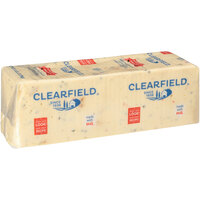 Clearfield Hot Pepper Jack American Cheese 5 lb. Solid Block - 6/Case