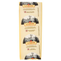Le Superbe Gruyere Cheese 6 lb. Solid Block - 2/Case