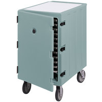 Cambro 1826LTC401 Camcart Slate Blue Mobile Cart for 18 inch x 26 inch Sheet Pans and Trays