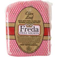 Freda Deli Meats 5 lb. Olive Loaf - 2/Case