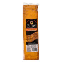 Biery 2.25 lb. Hickory Smoked Cheddar Cheese - 4/Case