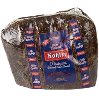 Kohler Super Trimmed Pastrami 5 lb. Piece   - 2/Case