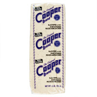 Cooper Cheese Black Pepper Flavored Sharp White American Cheese 5 lb. Solid Block   - 2/Case