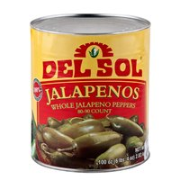 Whole Jalapeno Peppers #10 Can
