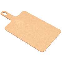 Epicurean 429-157501 15 inch x 7 1/2 inch x 1/4 inch Natural Richlite Wood Fiber Cutting and Serving Board with Handle