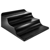 Black Plastic 3-Step Banana Riser - 24 inch x 28 inch x 11 inch