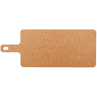 Epicurean 429-197501 19 inch x 7 1/2 inch x 1/4 inch Natural Richlite Wood Fiber Cutting and Serving Board with 9 inch Handle