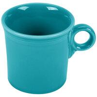 Homer Laughlin 453107 Fiesta Turquoise 10.25 oz. Mug - 12 / Case