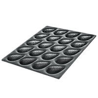 Bruise Buster® Black 20-Section Produce Riser Padding for Pears - 23 inch x 15 inch