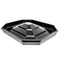 Black Octagonal Orchard Bin Riser - 47 inch x 40 inch x 8 inch