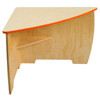 Whitney Brothers WB7804 Contemporary Desk - 26 inch x 26 inch x 19 inch