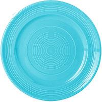 Tuxton CIA-090 Concentrix 9 inch Island Blue China Plate - 24/Case