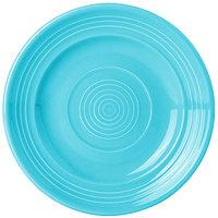 Tuxton CIA-062 Concentrix 6 1/4 inch Island Blue China Plate - 24/Case