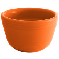 Tuxton CPB-0752 Concentrix 7.5 oz. Papaya China Bouillon Cup - 24/Case