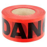 Red DANGER Tape - 3 inch x 1000 ft.
