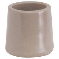 Flash Furniture LE-L-3-BGE-CAPS-GG Beige Replacement Foot Cap for Plastic Folding Chairs
