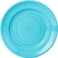 Tuxton CIA-074 Concentrix 7 1/2 inch Island Blue China Plate - 24/Case