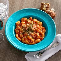 Tuxton CID-120 Concentrix 24.5 oz. Island Blue China Soup / Pasta Bowl - 6/Case