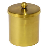 Cairo Collection Gold Stainless Steel Cotton Storage Container