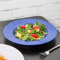 Carlisle 3303014 Sierrus 12 inch Ocean Blue Melamine Chef Salad / Pasta Bowl - 12/Case