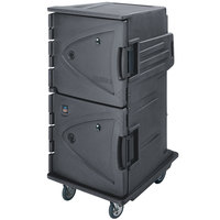 Cambro CMBHC1826TSC191 Granite Gray Camtherm Electric Food Holding Cabinet Tall Profile - Hot / Cold