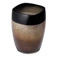 Skyline Collection High Gloss Resin 6 Qt. Wastebasket