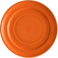 Tuxton CPA-120 Concentrix 12 inch Papaya China Plate - 6/Case