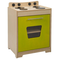 Whitney Brothers WB6420 19 inch x 15 inch x 25 3/4 inch Contemporary Children's Electric Lime Wood Stove