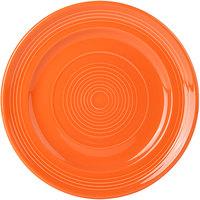 Tuxton CPA-090 Concentrix 9 inch Papaya China Plate - 24/Case