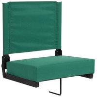 Flash Furniture XU-STA-HGR-GG Grandstand Hunter Green Ultra-Padded Bleacher Comfort Seat