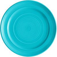 Tuxton CIA-120 Concentrix 12 inch Island Blue China Plate - 6/Case