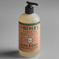Mrs. Meyer's 651332 Clean Day 12.5 oz. Geranium Scented Hand Soap with Pump - 6/Case