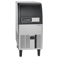 Ice-O-Matic ICEU070A 15 inch Air Cooled Undercounter Gourmet Cube Ice Machine with 24 lb. Bin - 115V; 84 lb.