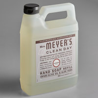 Mrs. Meyer's 651318 Clean Day 33 oz. Lavender Scented Hand Soap Refill - 6/Case
