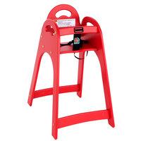 Koala Kare KB105-03KD Red Designer High Chair - Unassembled
