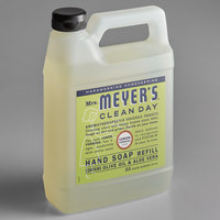 Mrs. Meyer's 651327 Clean Day 33 oz. Lemon Verbena Scented Hand Soap Refill - 6/Case