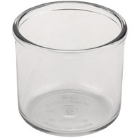 GET CD-8-B-2-CL Clear SAN Plastic 8 oz. Condiment Jar