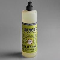Mrs. Meyer's 650393 Clean Day 16 oz. Lemon Verbena Scented Dish Soap - 6/Case