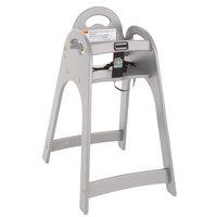 Koala Kare KB105-01KD Gray Designer High Chair - Unassembled