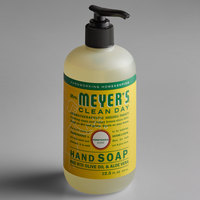 Mrs. Meyer's Clean Day 651378 12.5 oz. Honeysuckle Scented Hand Soap with Pump - 6/Case