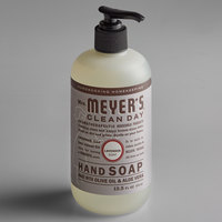Mrs. Meyer's 651311 Clean Day 12.5 oz. Lavender Scented Hand Soap with Pump - 6/Case