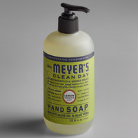 Mrs. Meyer's 651321 Clean Day 12.5 oz. Lemon Verbena Scented Hand Soap with Pump - 6/Case