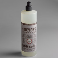 Mrs. Meyer's 650391 Clean Day 16 oz. Lavender Scented Dish Soap - 6/Case