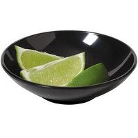 GET B-453-BK Settlement 4.5 oz. Black Melamine Round Side Dish Bowl - 48/Case