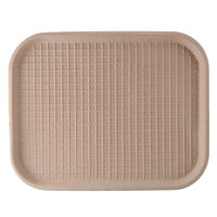 Green Wave TW-TOO-041 9 inchx 12 inch Biodegradable Tray - 50 / Pack
