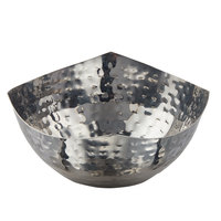 American Metalcraft SBH575 15 oz. Round Hammered Stainless Steel Serving Bowl